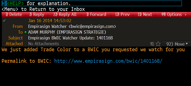 sample watched bwic update